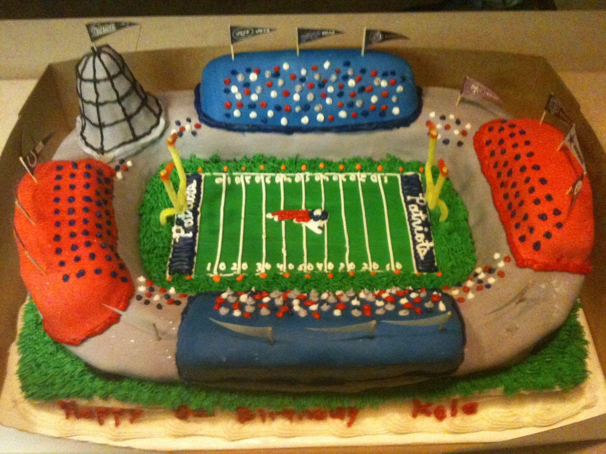 patriots cake pictures