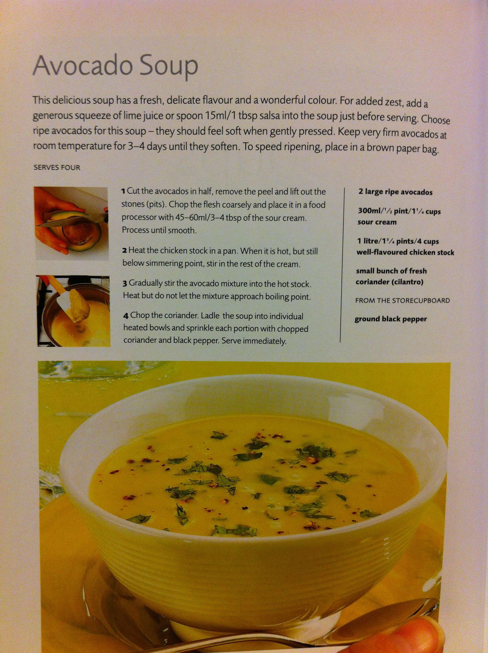 Avocado Soup! | Soup. | Pinterest