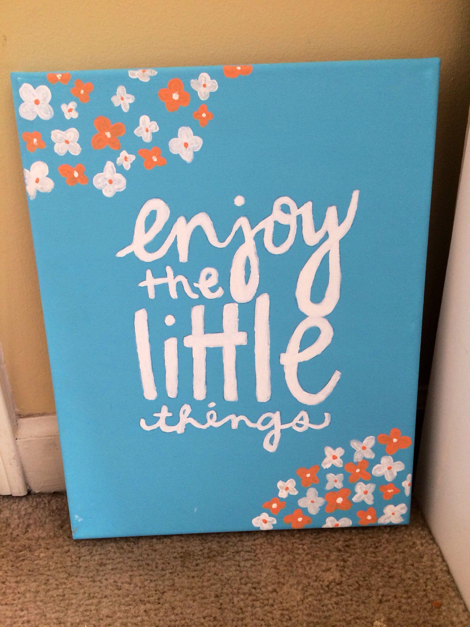 Decorating Ideas > Cute Canvas!  My Favorite Quotes ~ 062437_Dorm Room Canvas Ideas