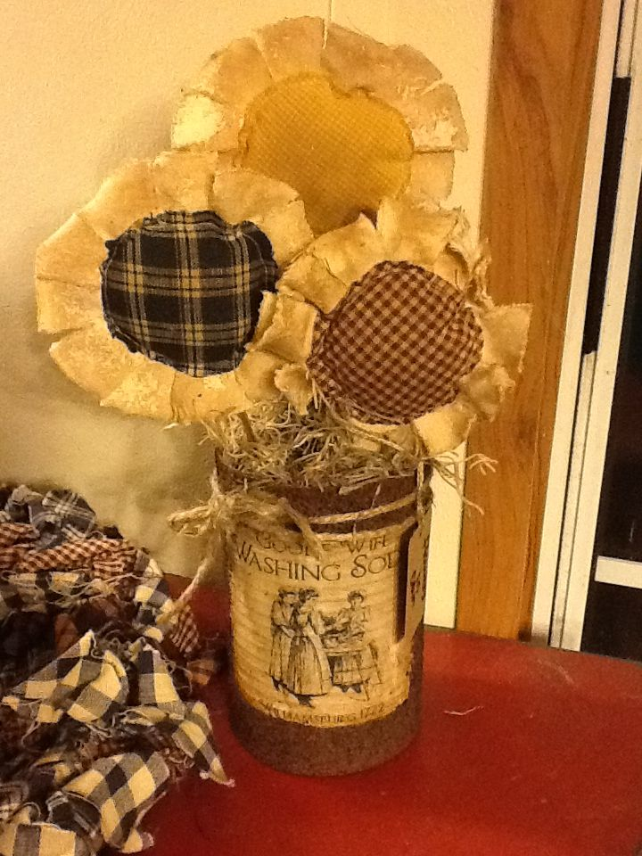 Pinterest Primitive Crafts Flowers