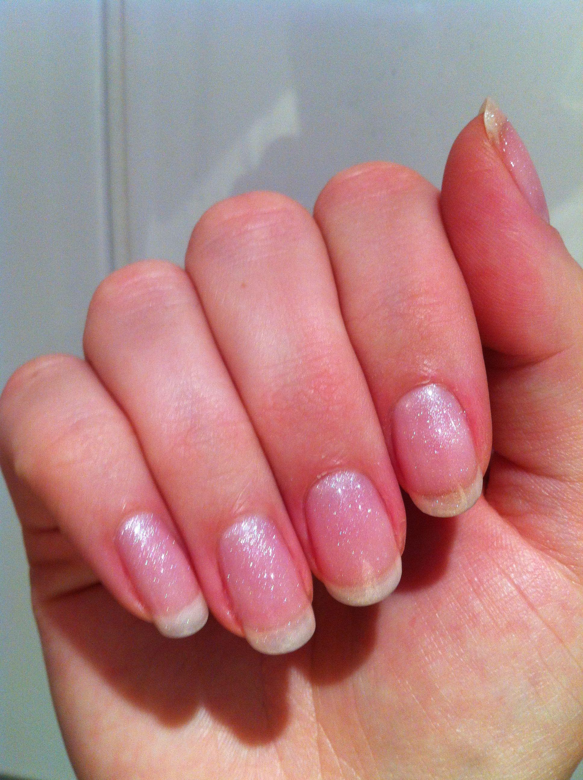 2nd attempt at DIY shellac gel nails | Nail art | Pinterest