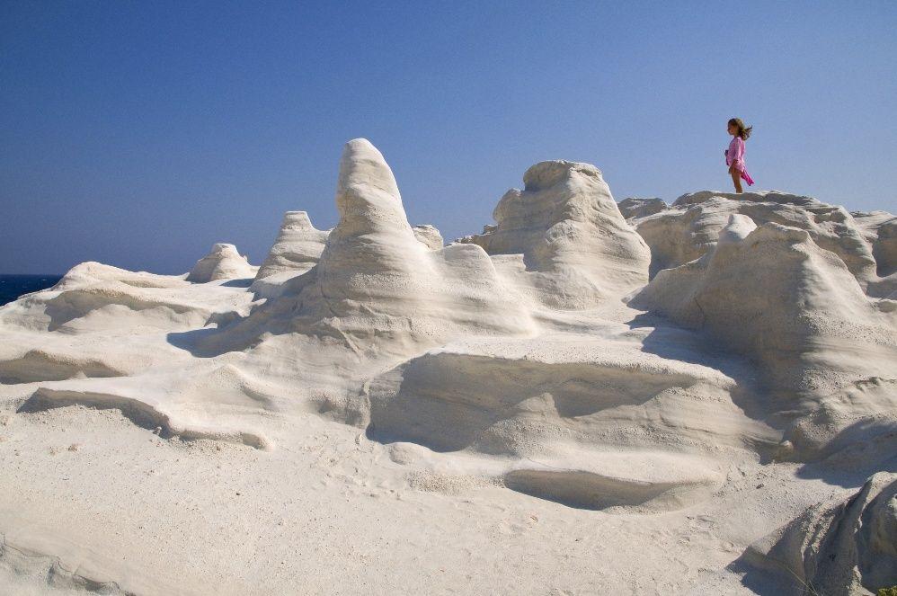 Sarakiniko beach, Milos  My Greece  Pinterest