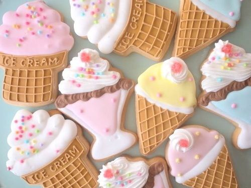 ice cream biscuits | Sweet Indulgence | Pinterest