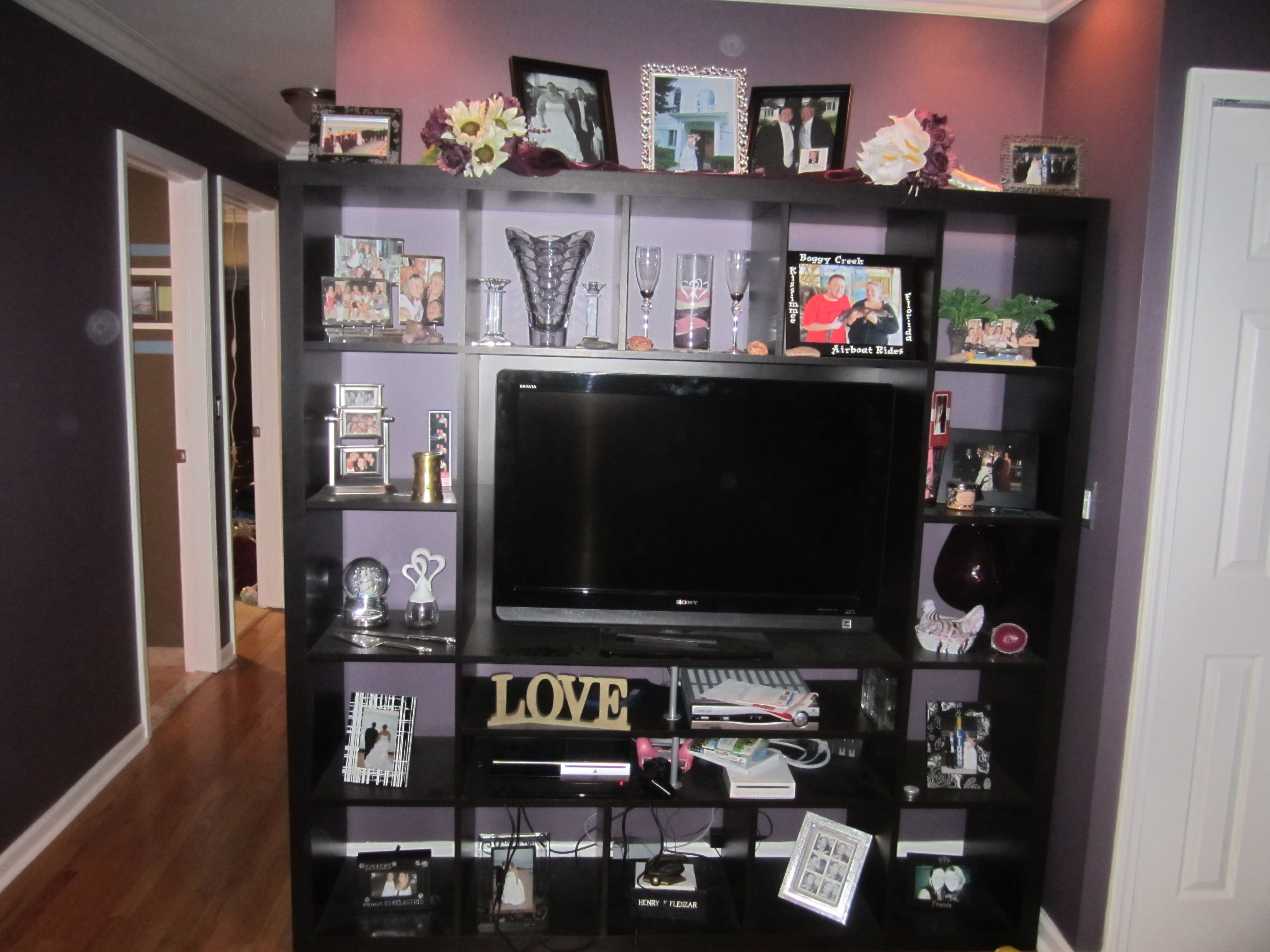 Ikea Mandal Headboard Review ~ Sweet Ikea entertainment center  My Style  Pinterest