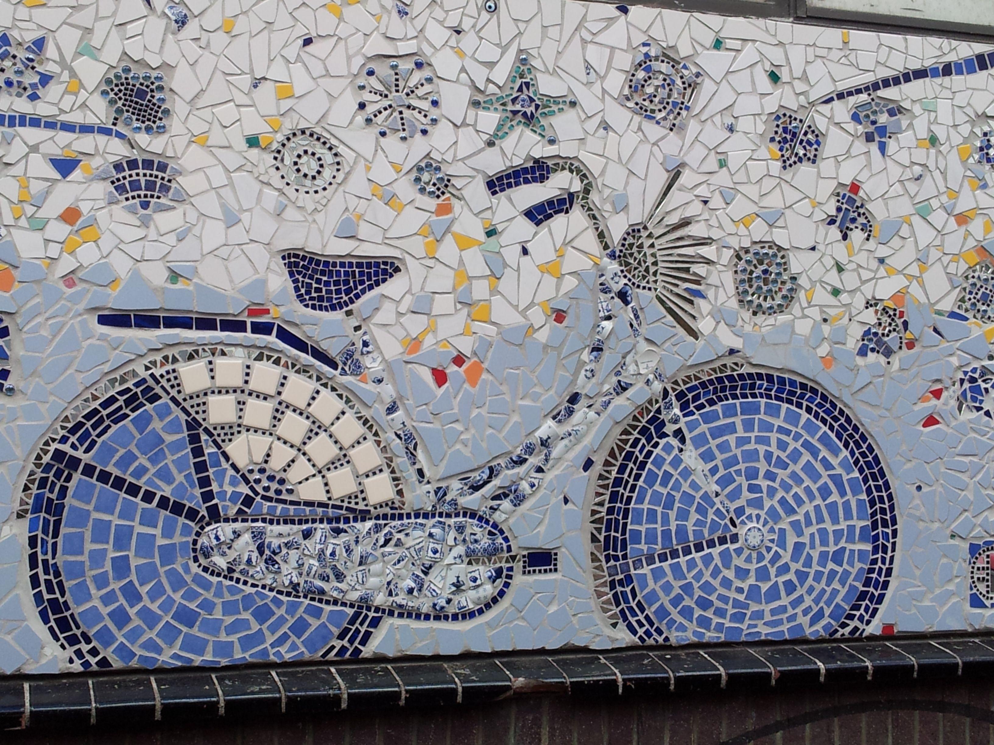 Pinterest for Delft tile mural