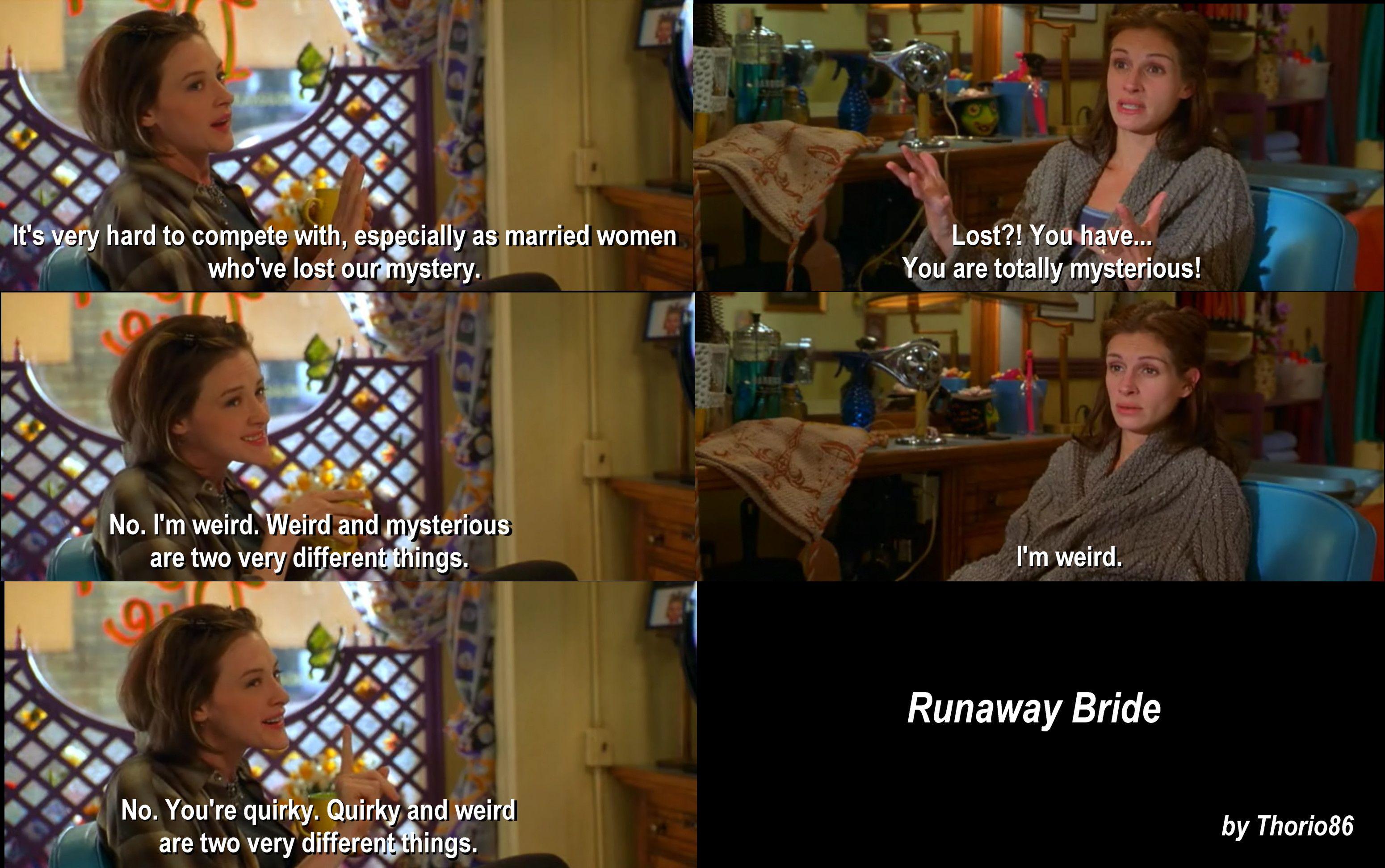 runaway bride quotes