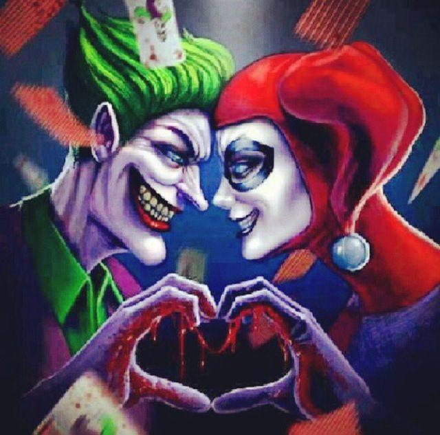 Joker and Harley Quinn Love