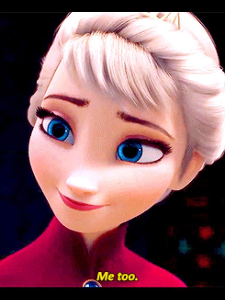 Happy Elsa :) | Frozen | Pinterest