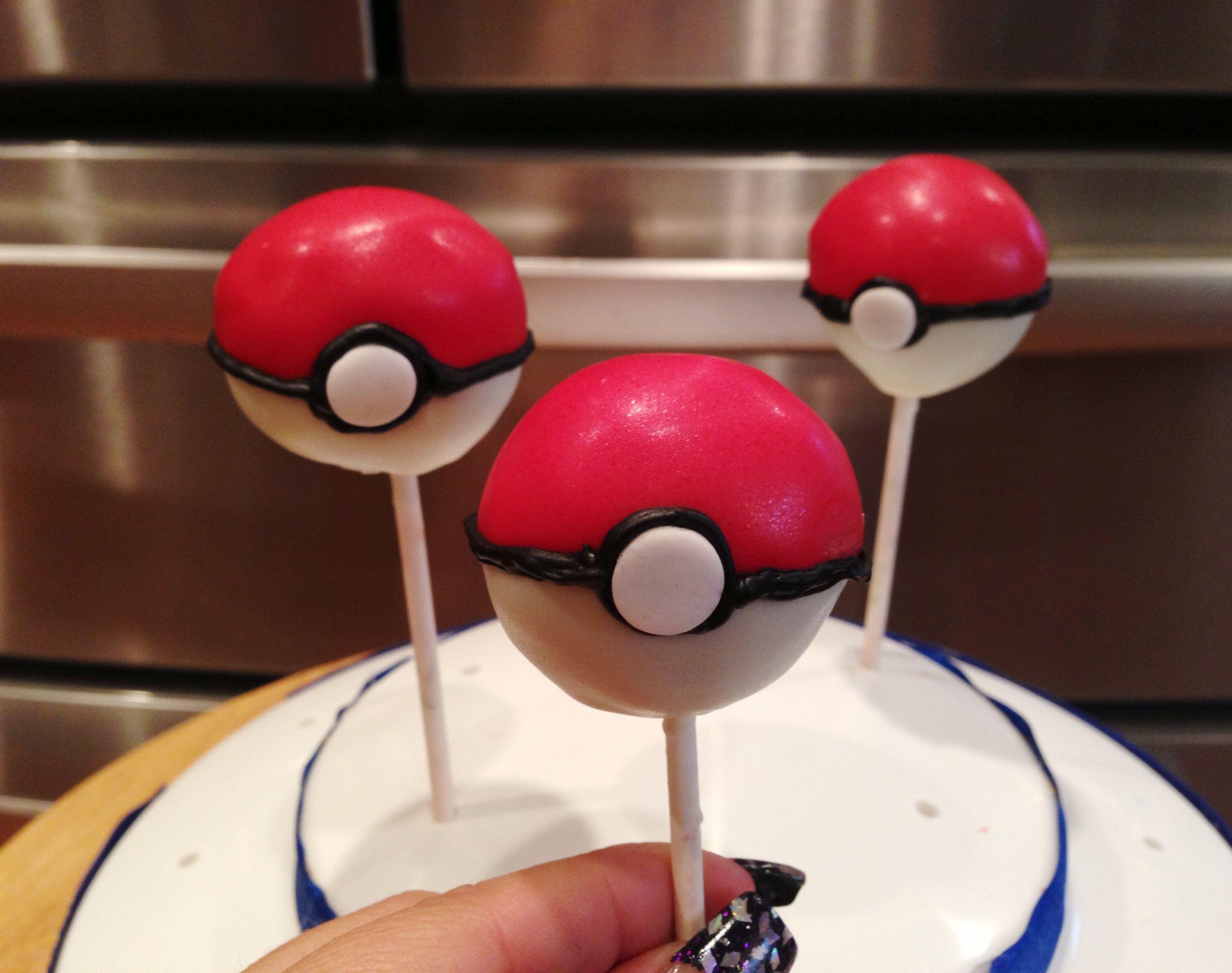 pokemon pokeballs cake pops kelsey rae cake decorating
