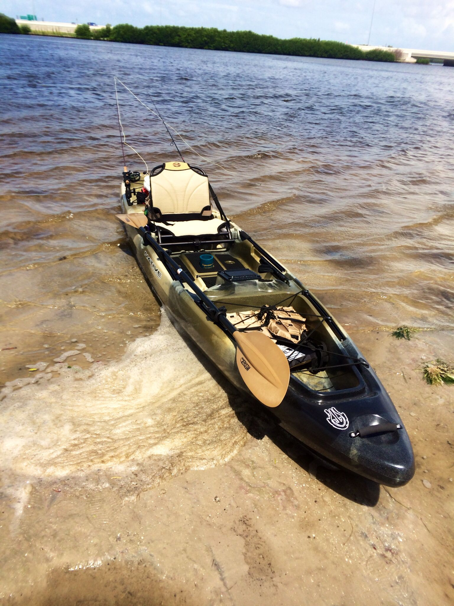 My new native 14 5 slayer kayak kayaking and sup 39 s for Native fishing kayak
