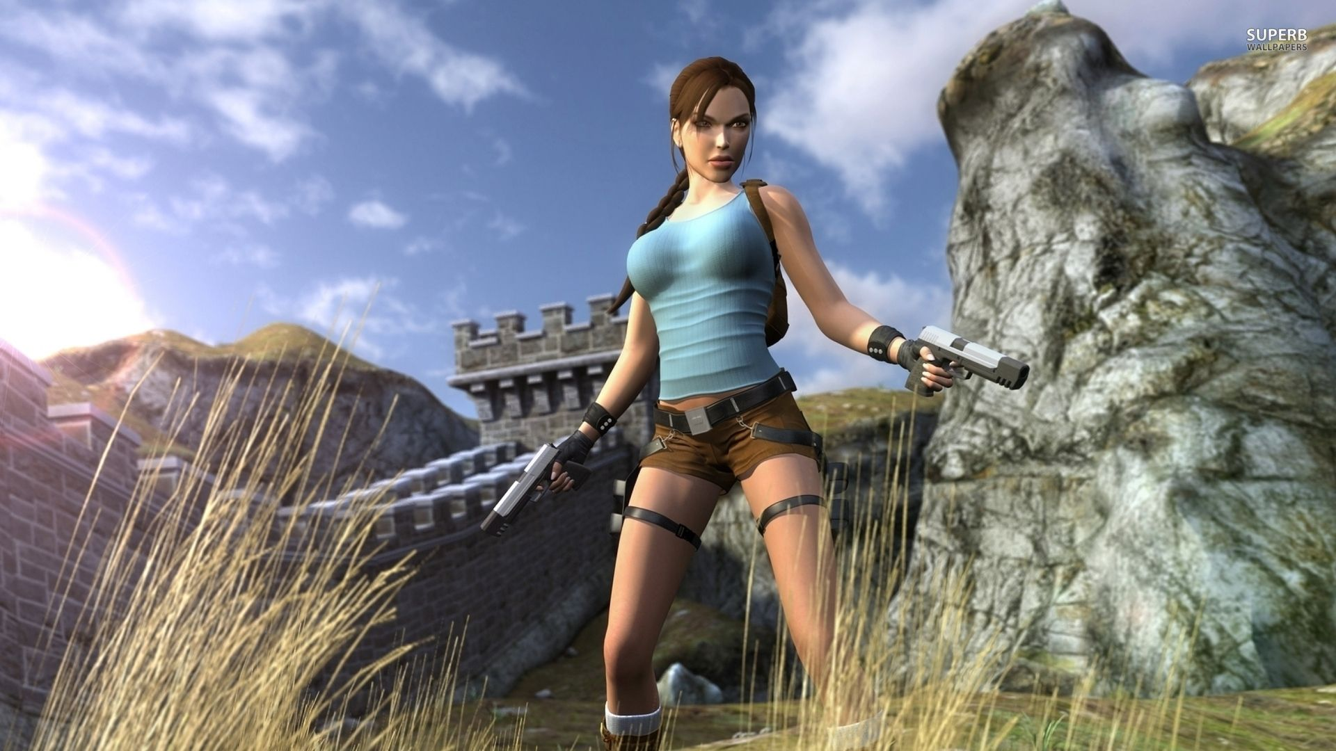 3d game girl lara croft tomb raider  sex clips