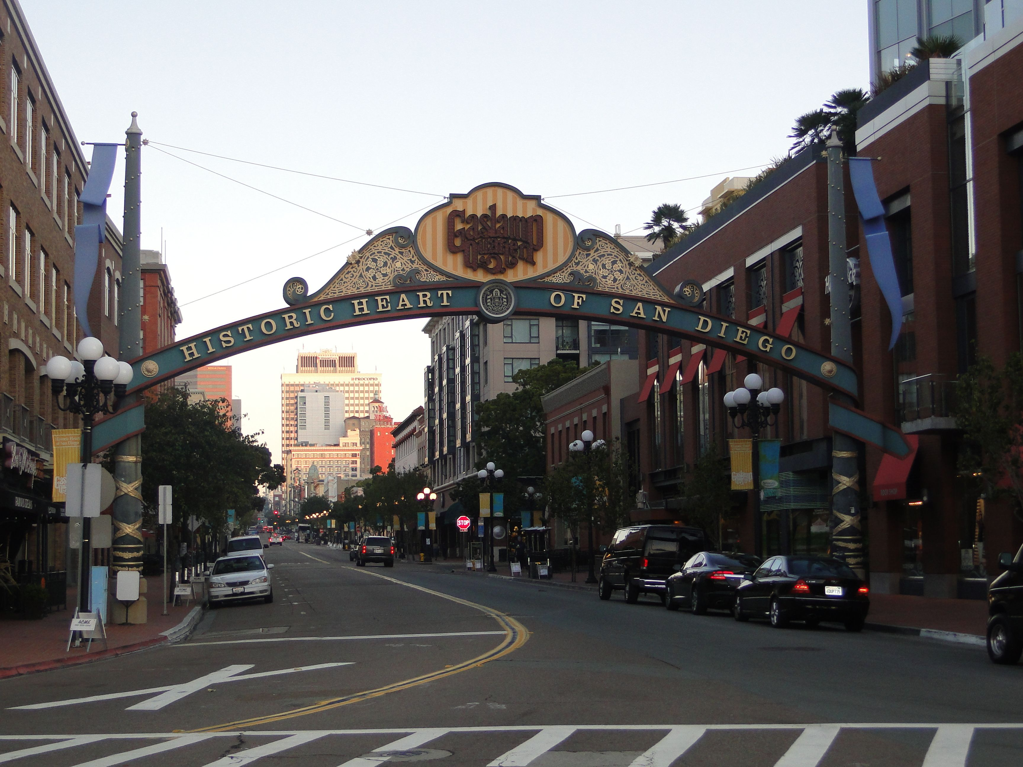 Gaslamp District | Been there - done that | Pinterest