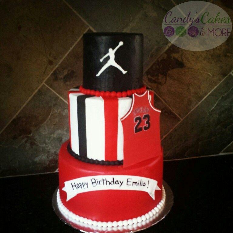 Cake Design Jordan : Jordan Cake Michael Jordan Cake Pinterest