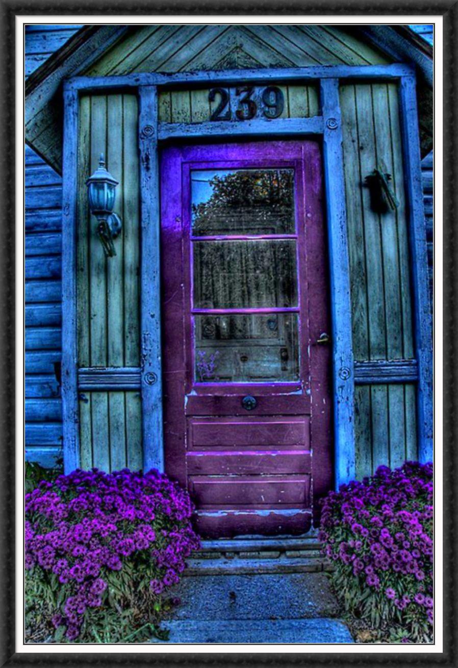 Purple Door I Just Like It Pinterest