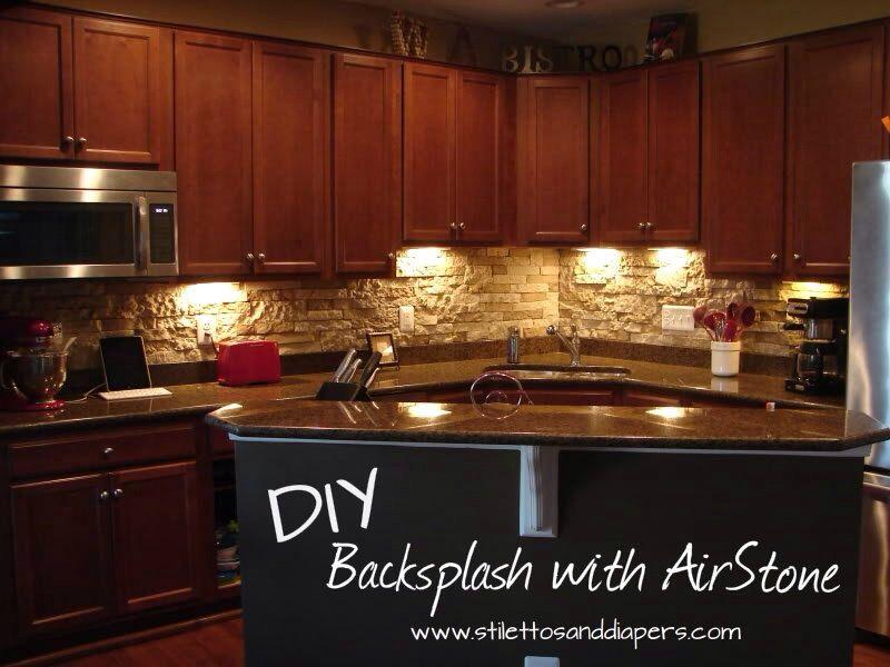 air stone interior backsplash for the home pinterest