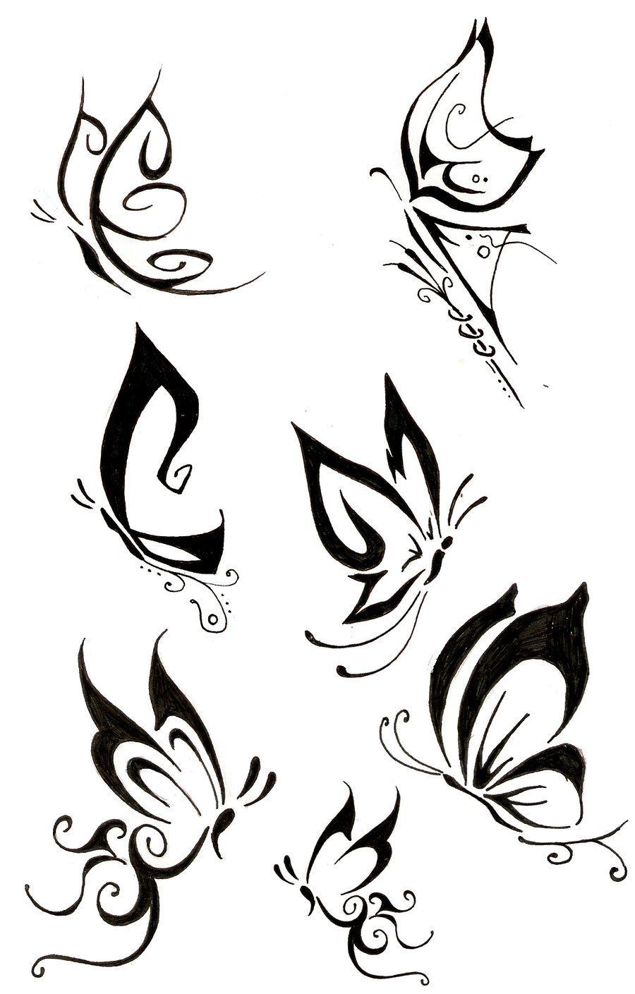 Butterfly Tattoo by THe-FoX-HounD.deviantart.com on @deviantART