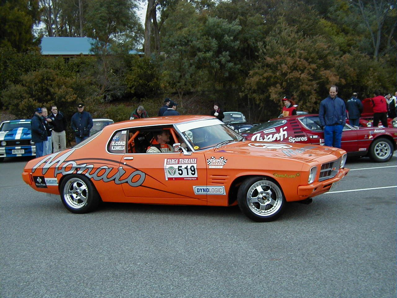 old school monaro at targa tasmania famous holden chev race cars. Black Bedroom Furniture Sets. Home Design Ideas
