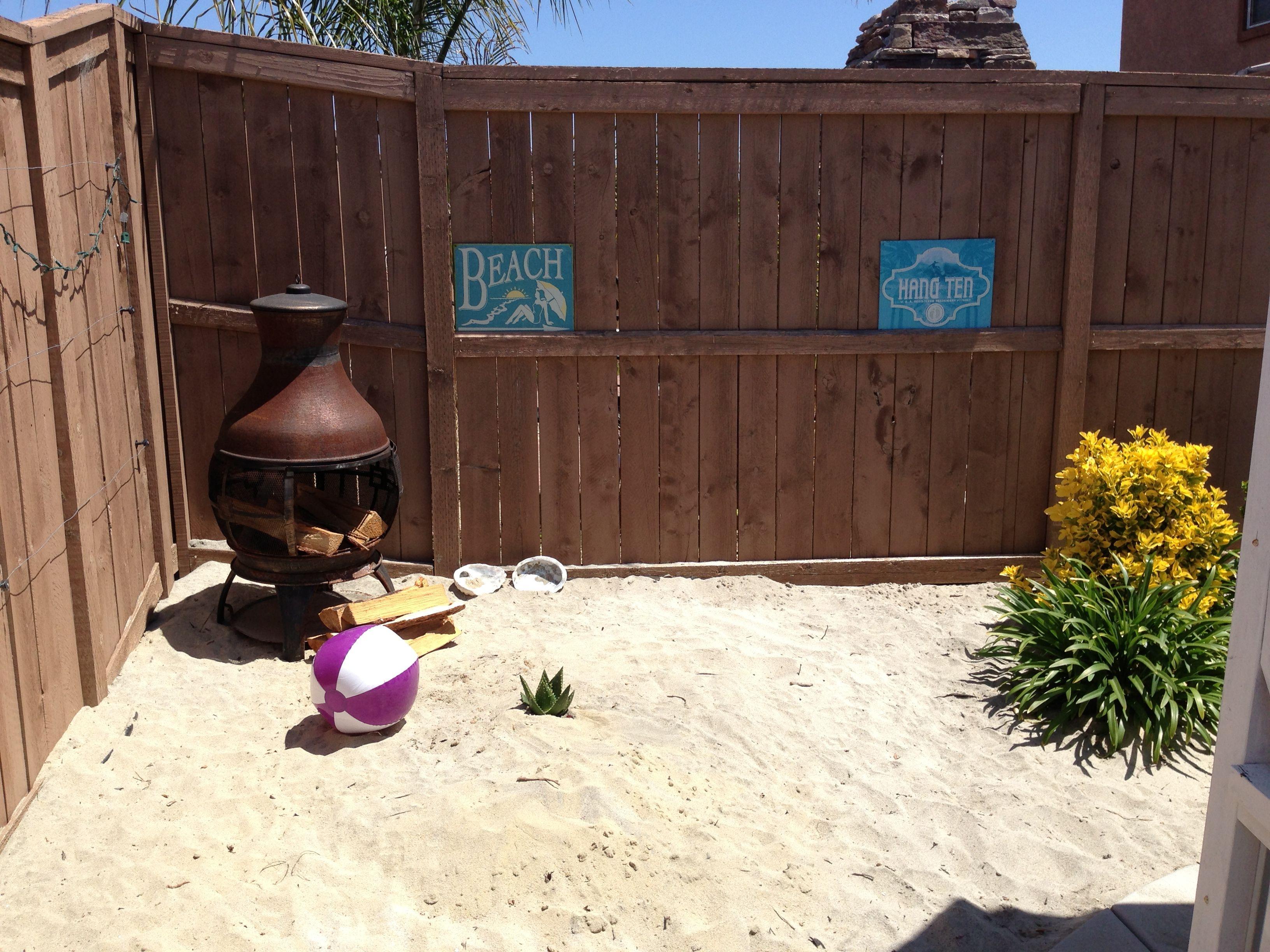 backyard beach backyard ideas pinterest