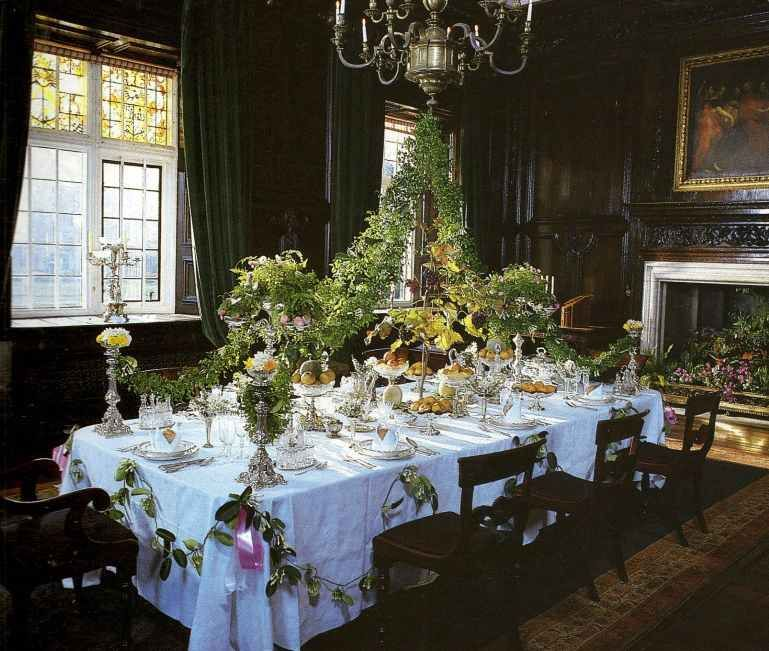 Beautiful Table Setting Victorian Homes And Interiors Pinterest
