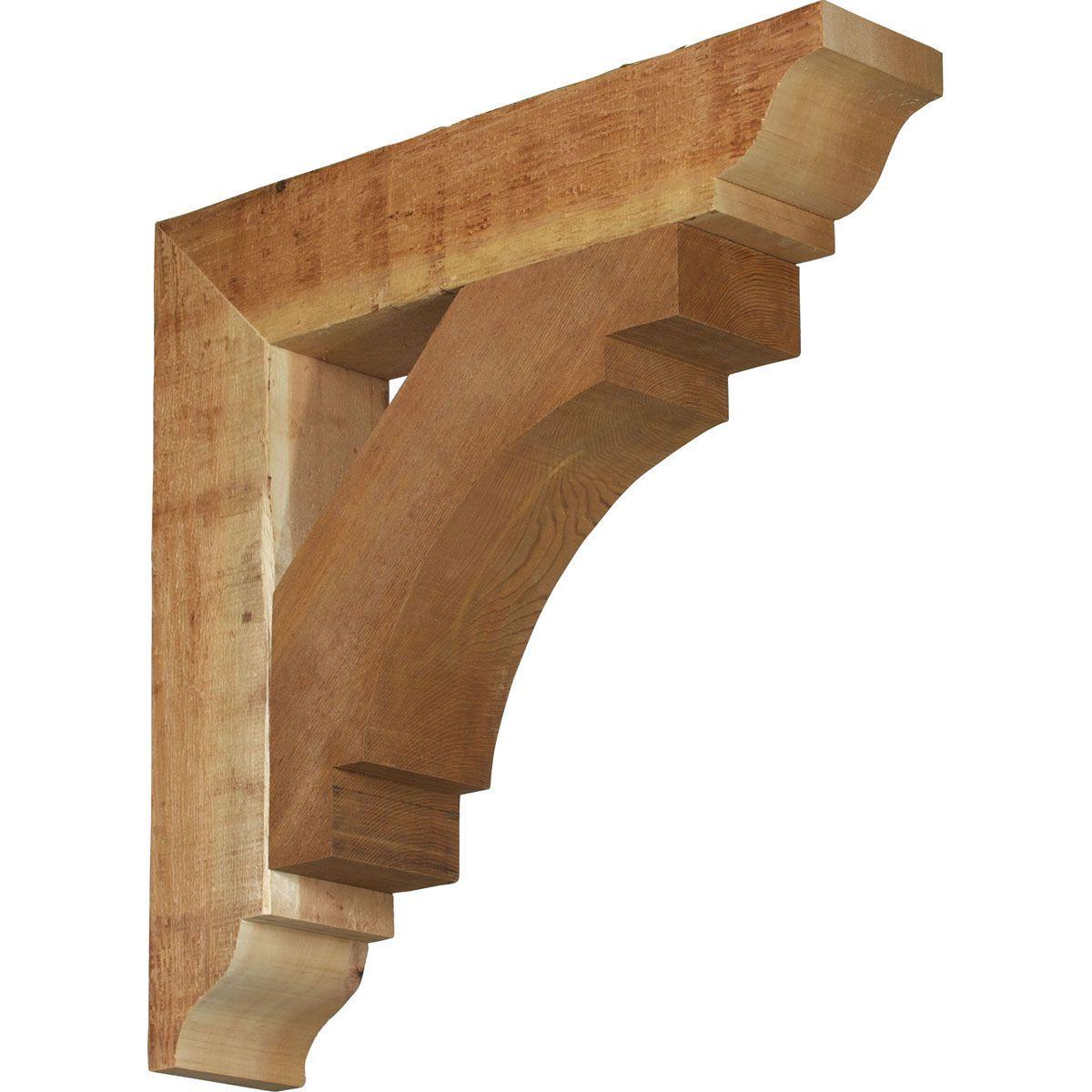 Wood Shelf Bracket Designs