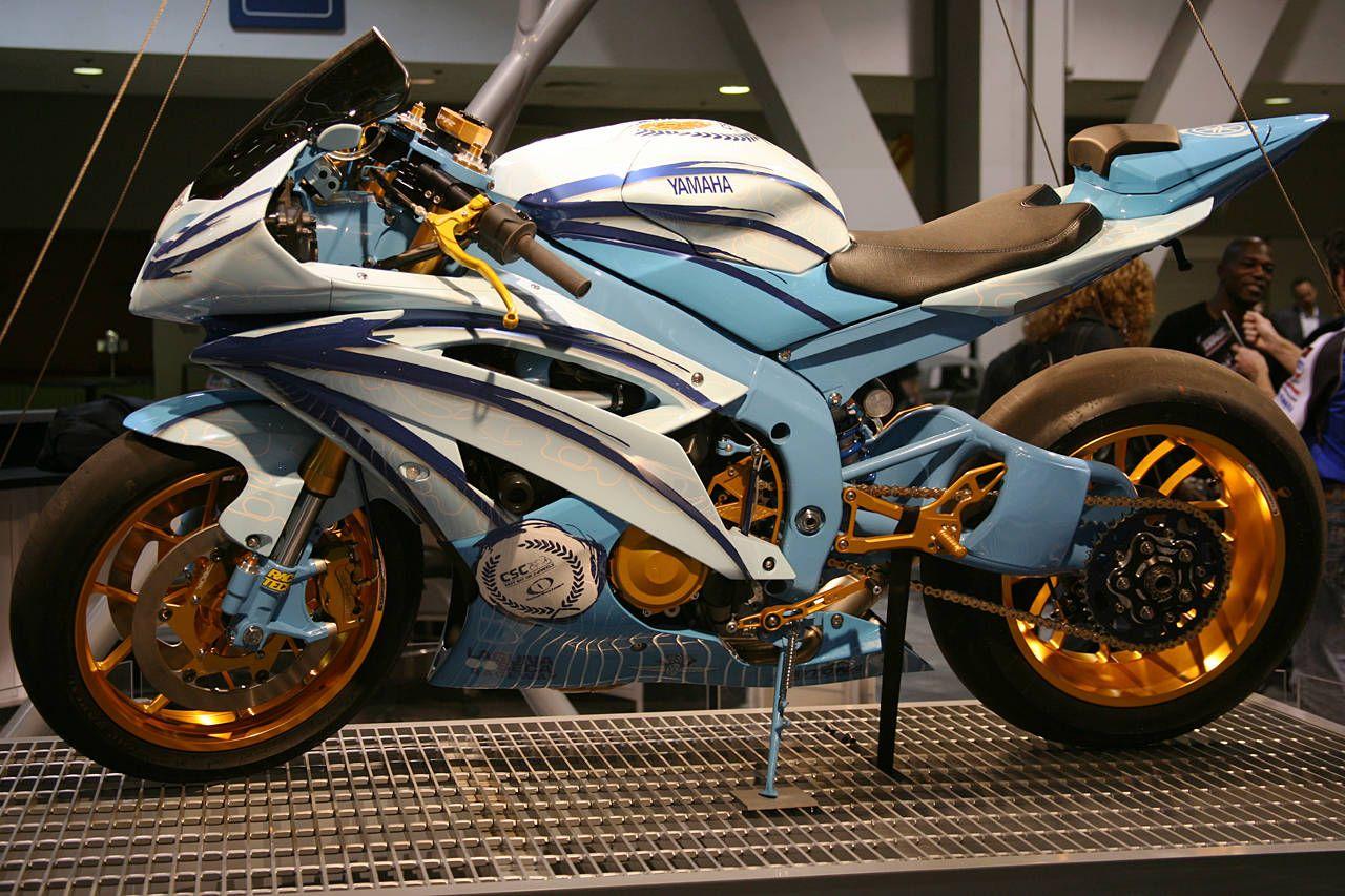 Yamaha R6 Custom Sport Bike Motorcycles Pinterest