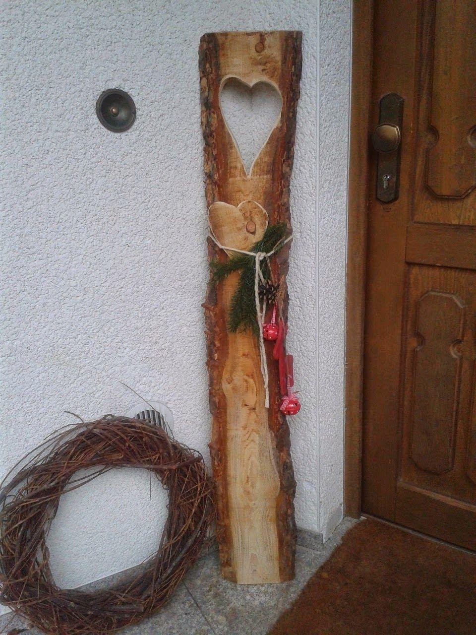 Holzdeko für Weihnachten | crafts 2 | Pinterest | Christmas ...