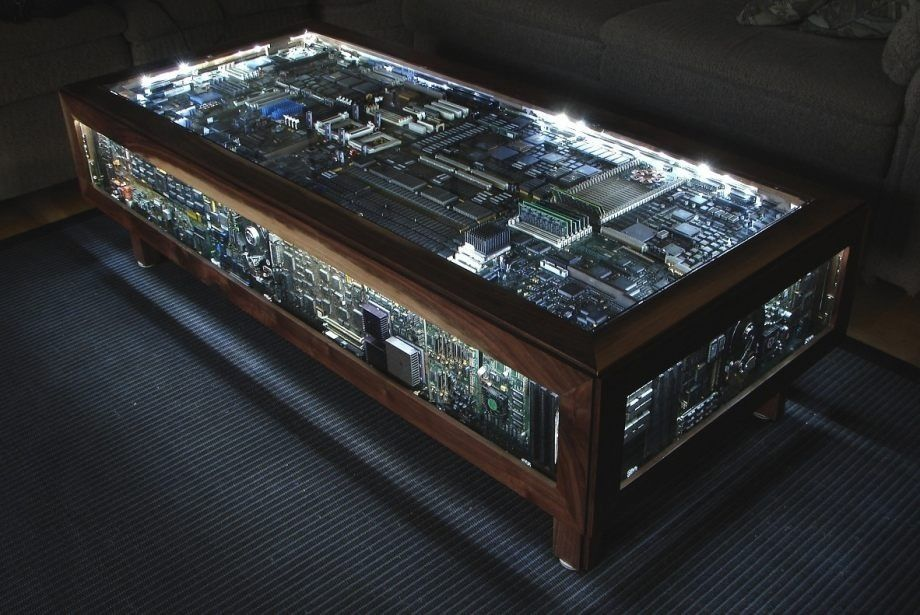 Man Cave End Table : Cool coffee table man cave workshop garage pinterest