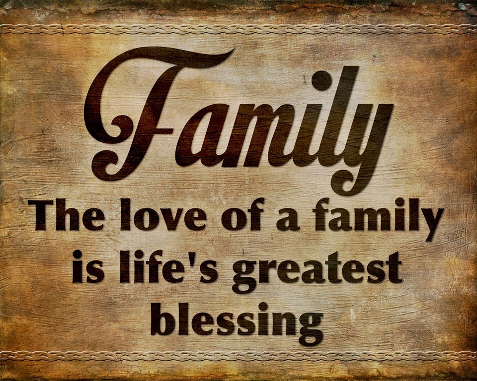 Family quote Family Reunion Pinterest