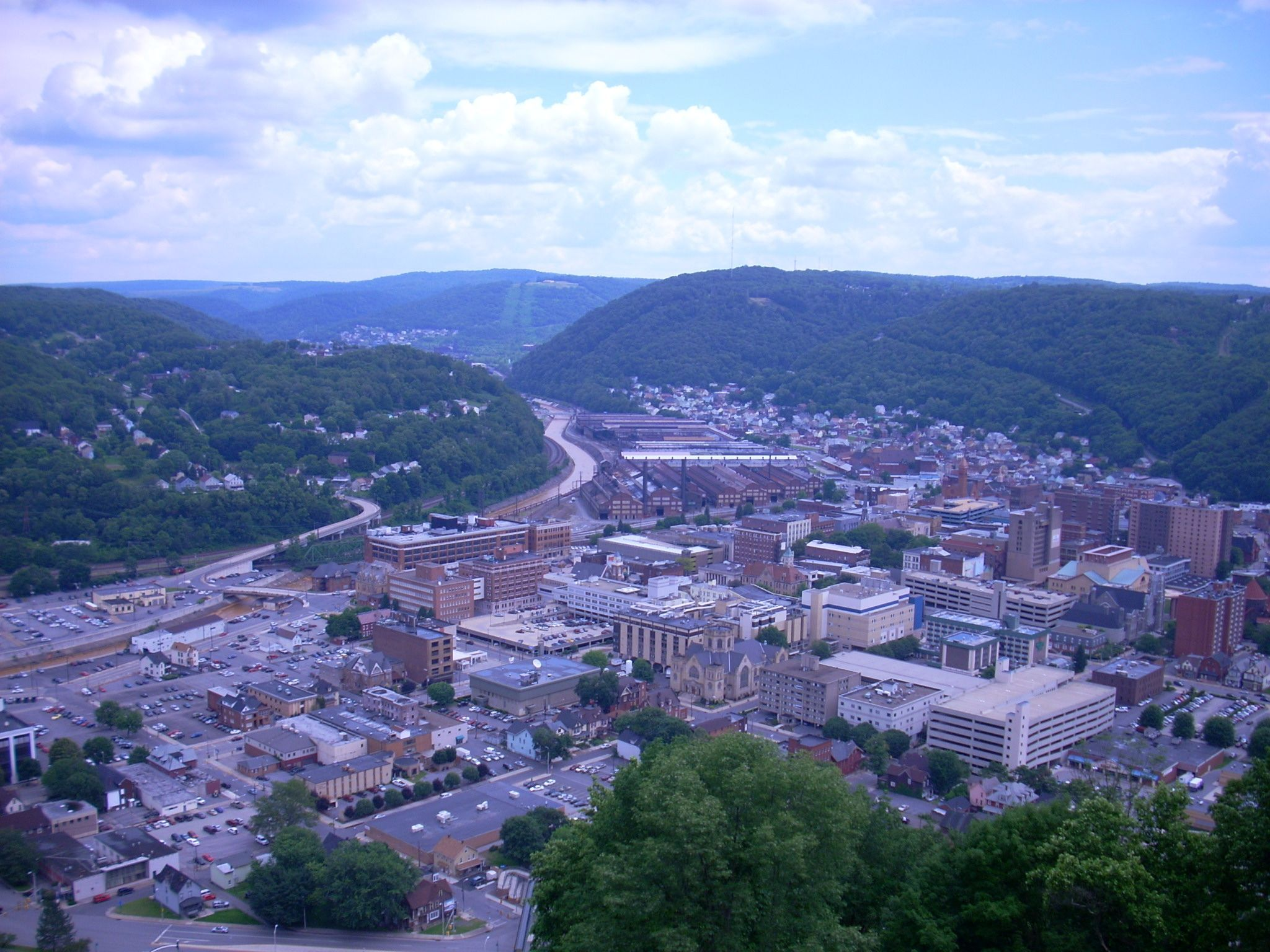 Johnstown affordable college towns Pennsylvania