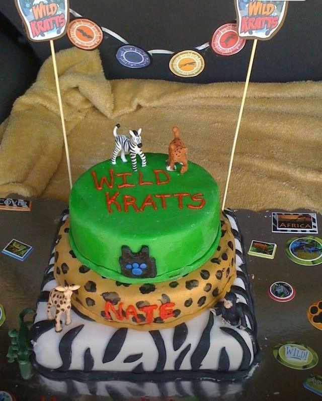 Image Result For Wild Kratts Kids Birthday Cakes