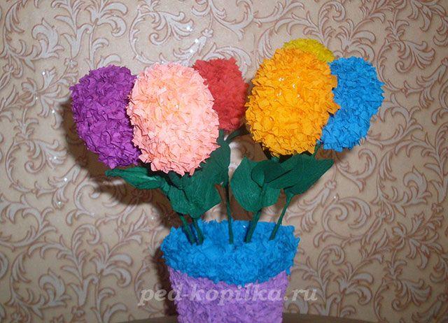 Поделки из цветов сделанные руками - Поделки своими руками, Поделки из различных материалов