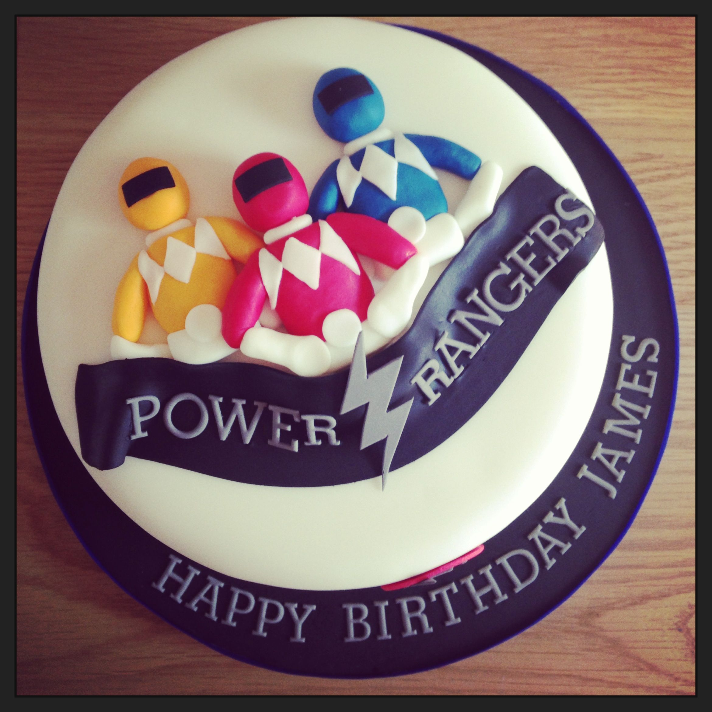 Power Rangers Cake Uk