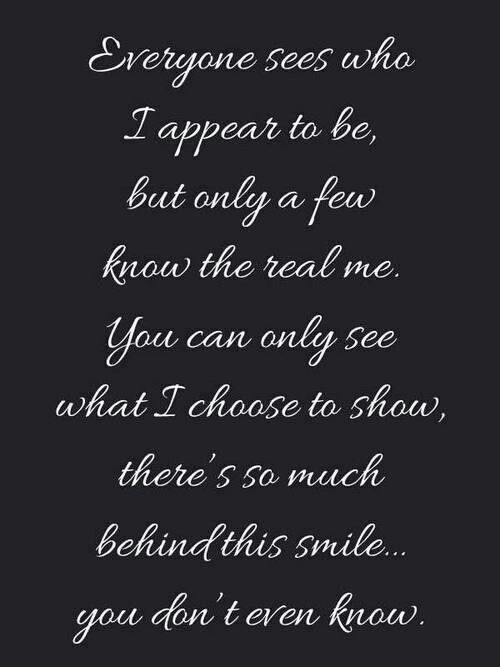 Behind the smile Quotes Pinterest