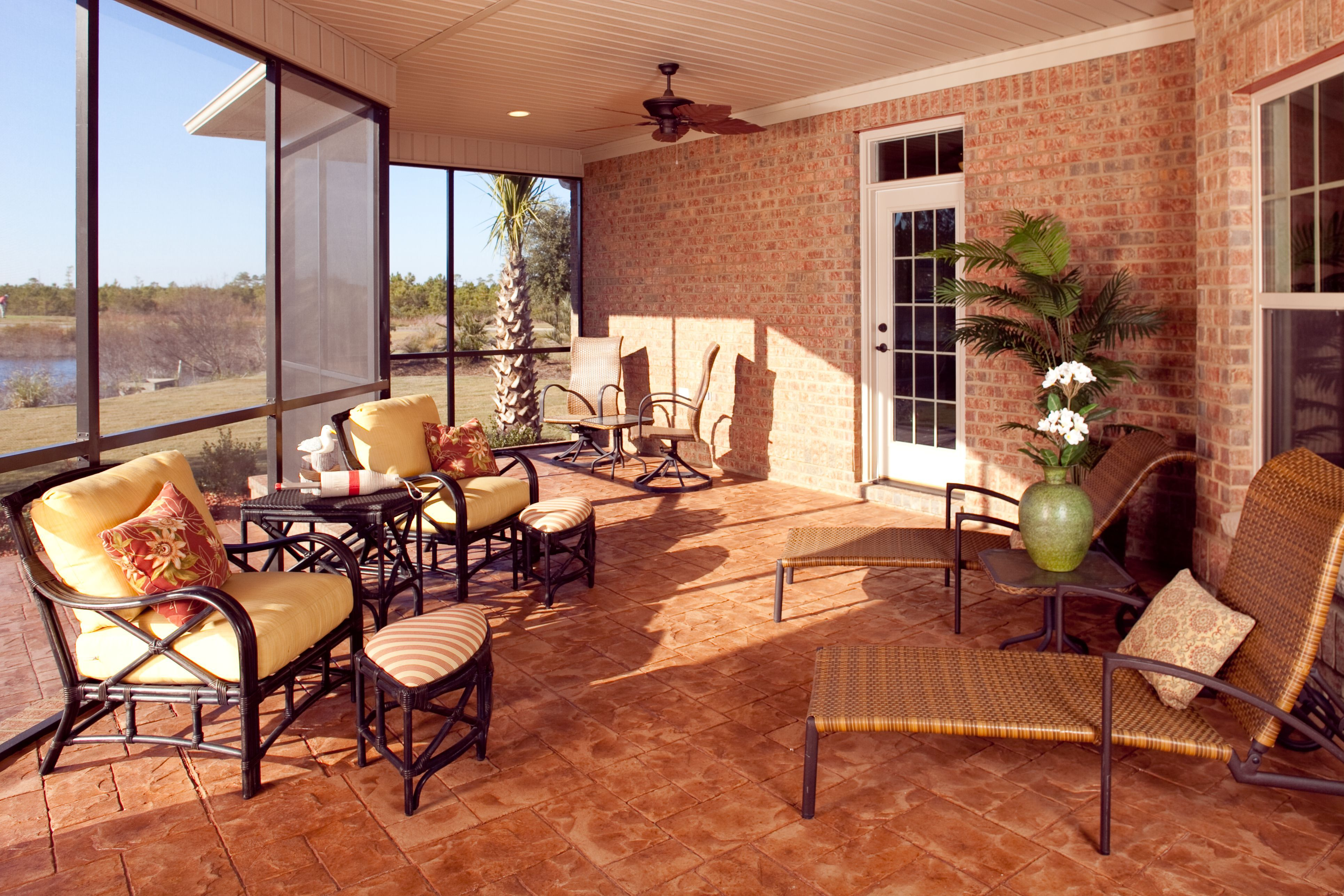 Covered Lanai Yes Please Outdoor Living Pinterest