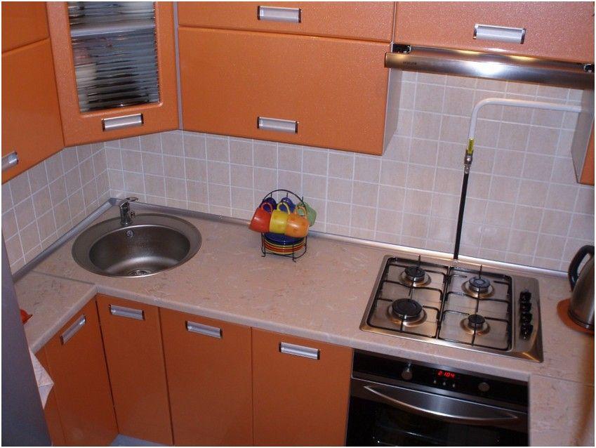 Дизайн кухни в хрущевки 6 кв.м в