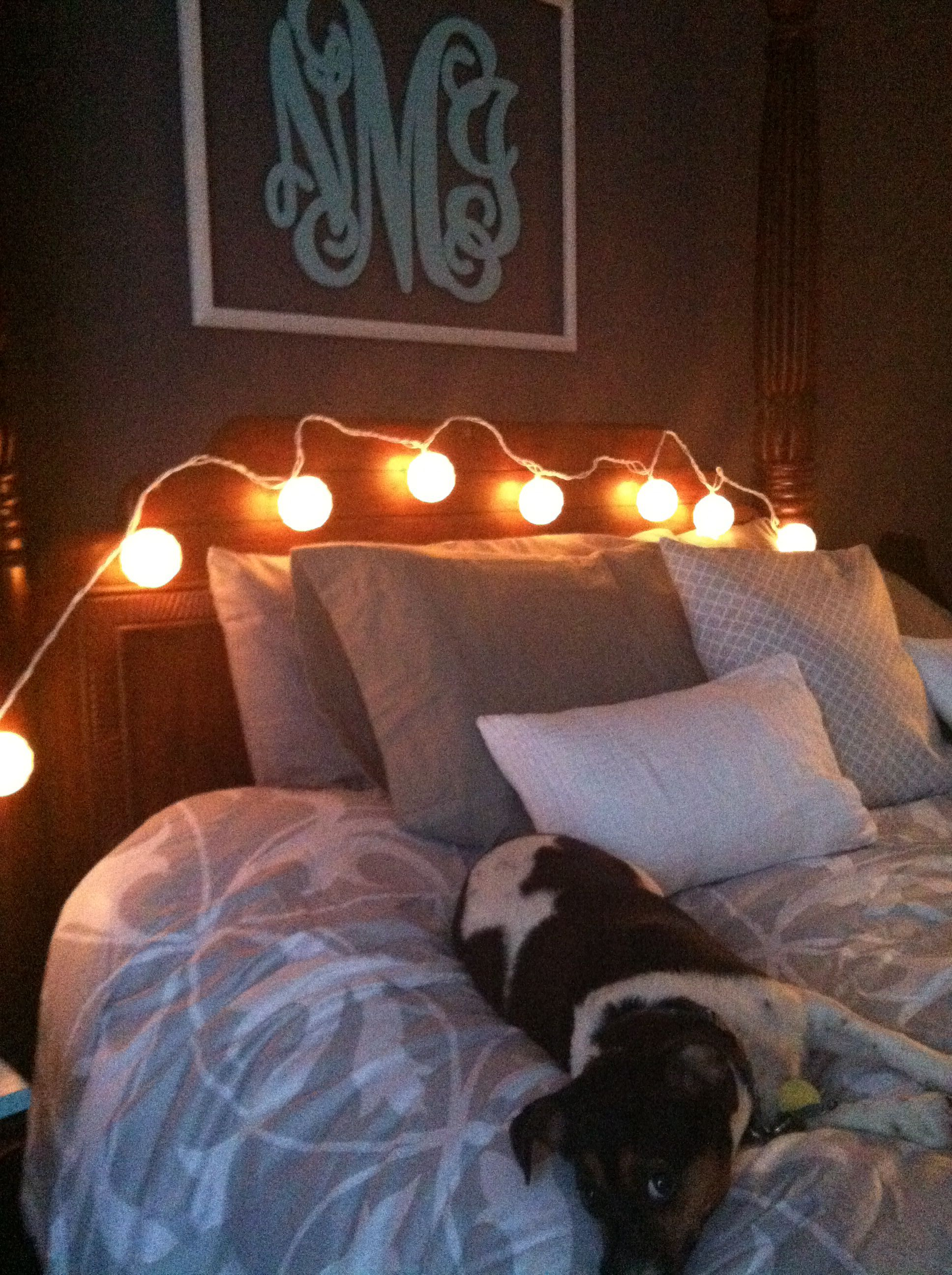 bedroom string lights bedroom makeover pinterest