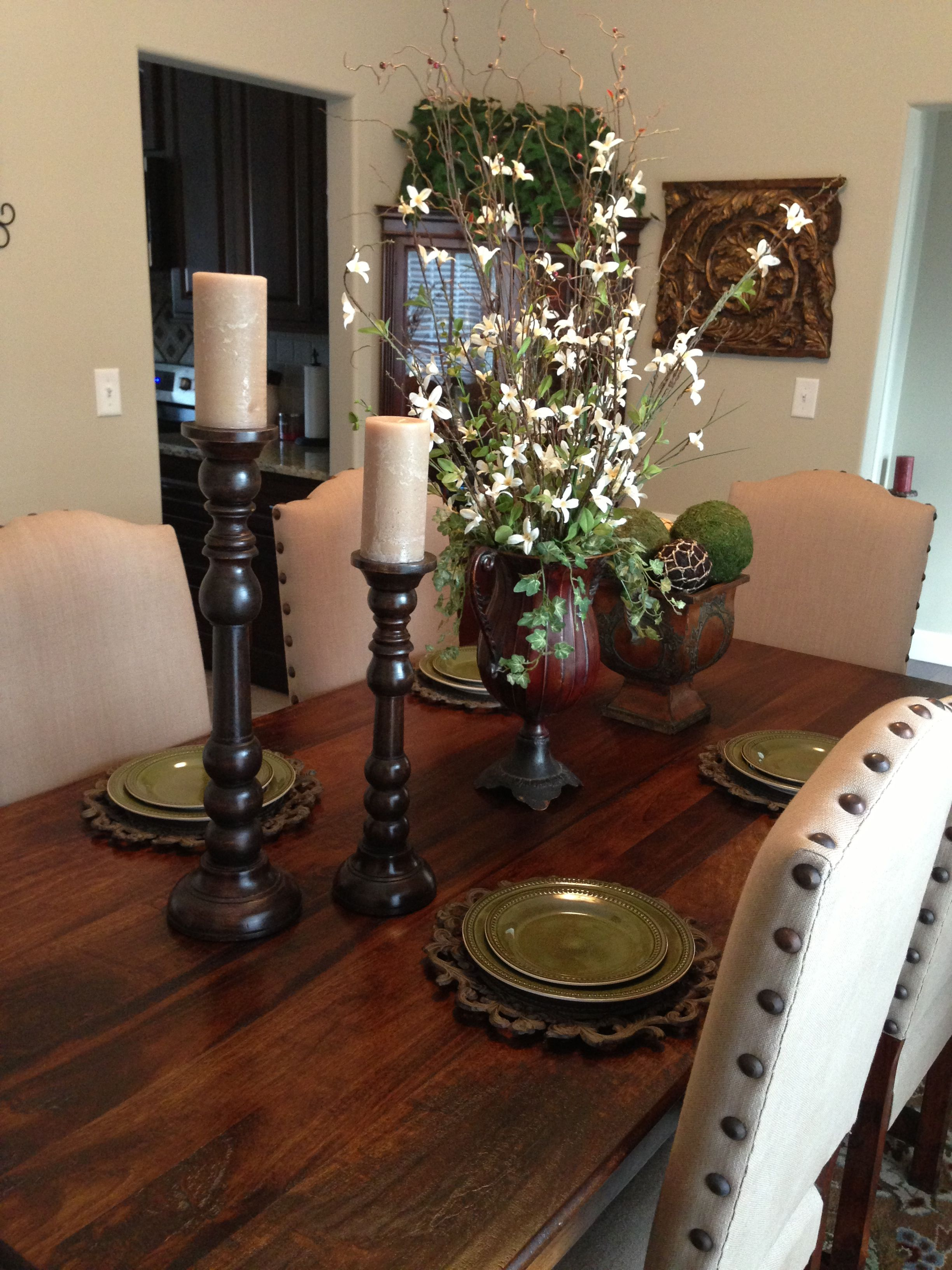 Top 9 Beautiful Dining Room Tablescapes Djenne Homes 1304