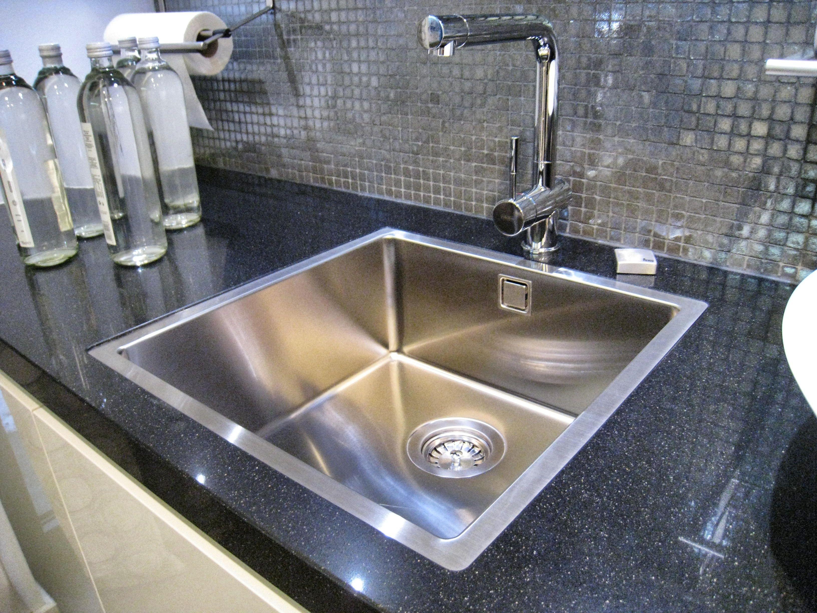Flush Kitchen Sink : Flush mounted sink Hacker Kitchen Showroom Pinterest
