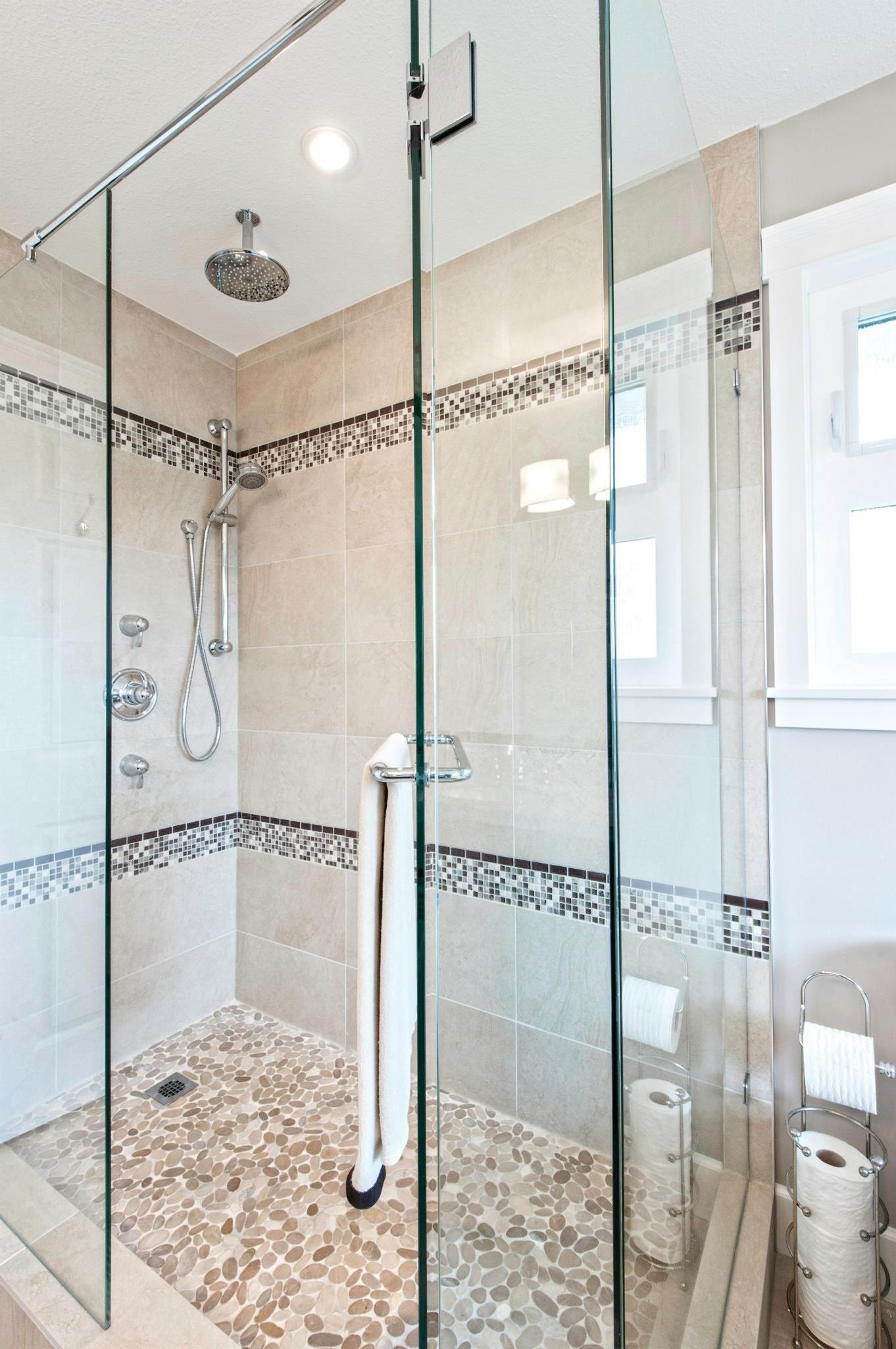 Stand Up Shower Bathroom Pinterest