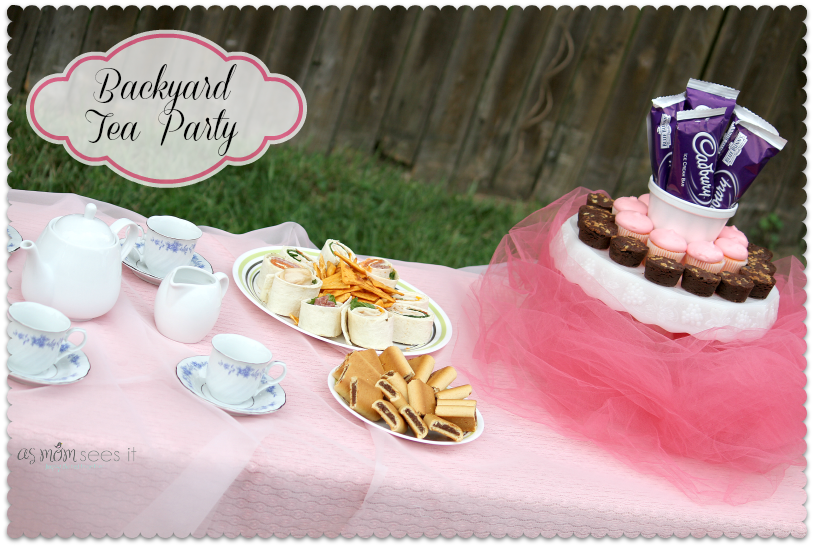 Backyard #TeaParty for kids | birthday party ideas | Pinterest