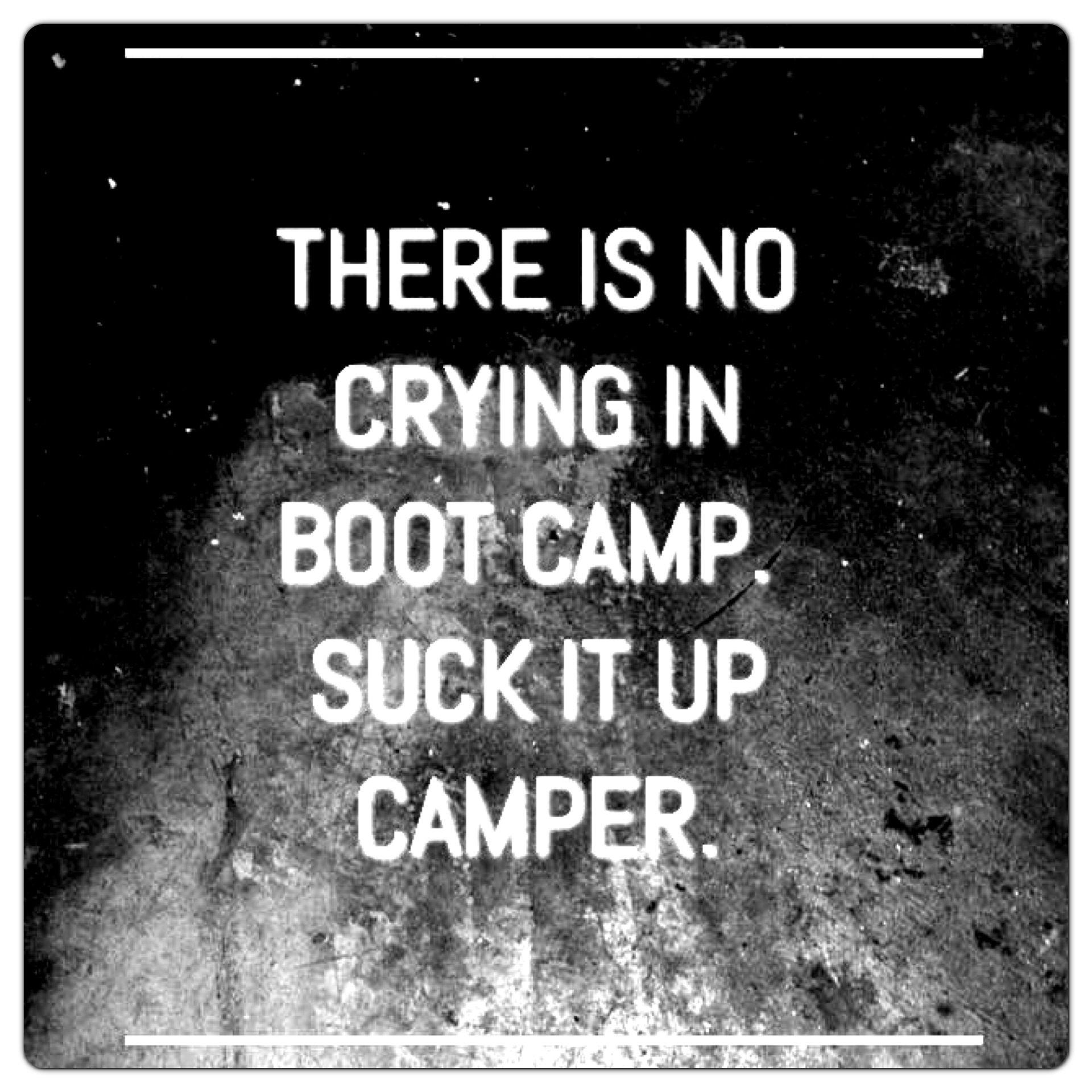 boot camp motivational quotes quotesgram