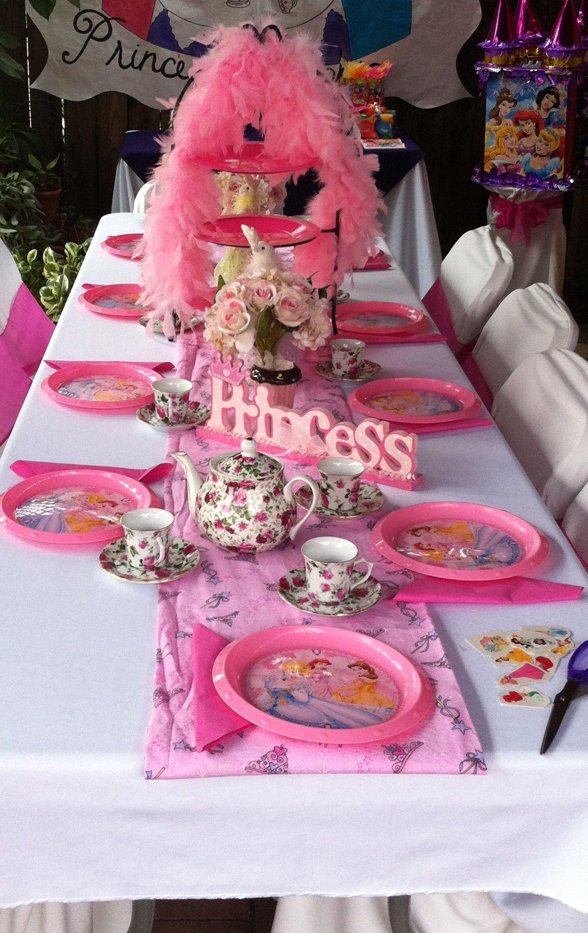 princess tea party table decor tea for joy pinterest
