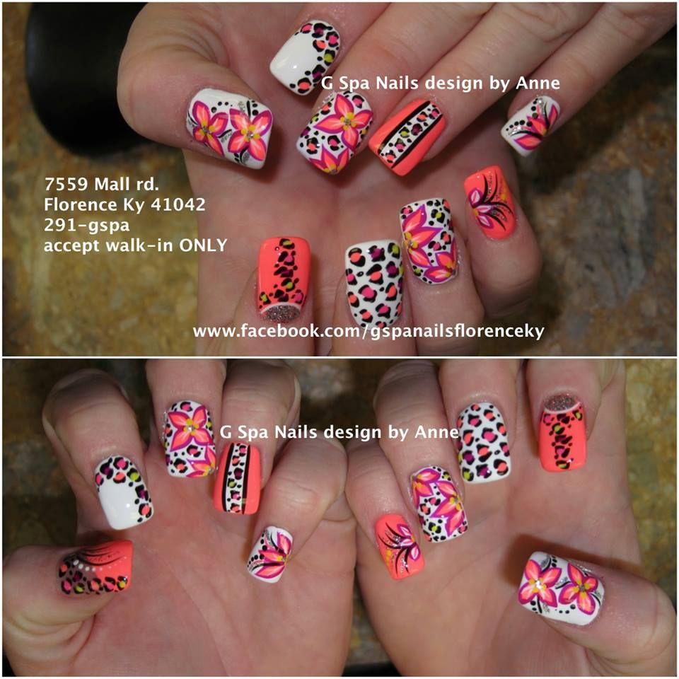 cheetah nail designs nails designs pinterest