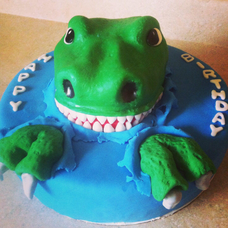 Cake Designs Dinosaur : Dinosaur Birthday Cake Cake Decorating Pinterest