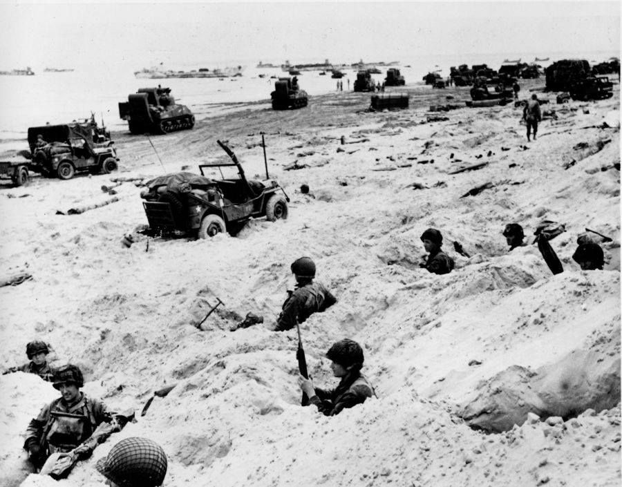 d day landings in normandy france