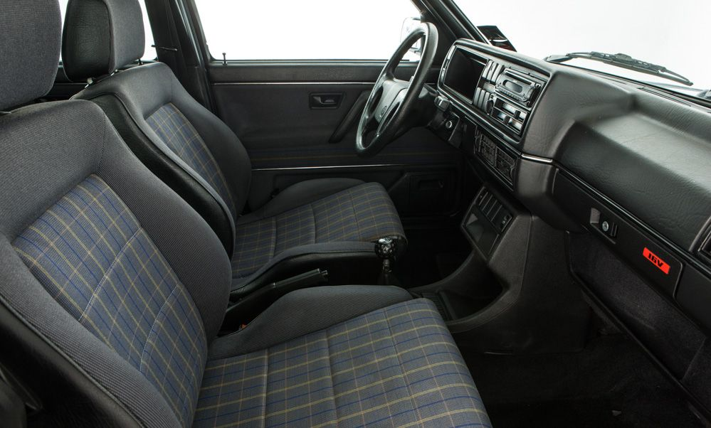 Mk2 Golf GTI Seat Bolster Material Now Available