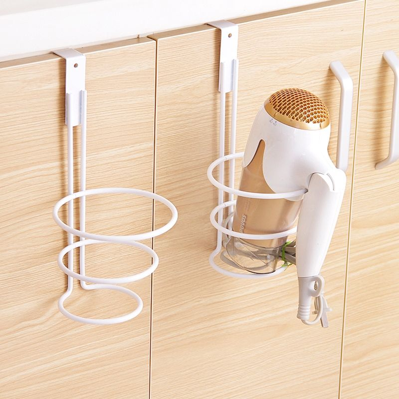 Hair dryer caddy bathroom organizer