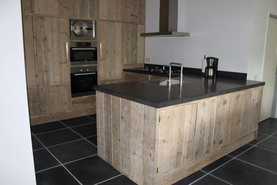 Keuken Van Steigerhout Maken : Steigerhouten keuken!!!! Steigerhout. Pinterest