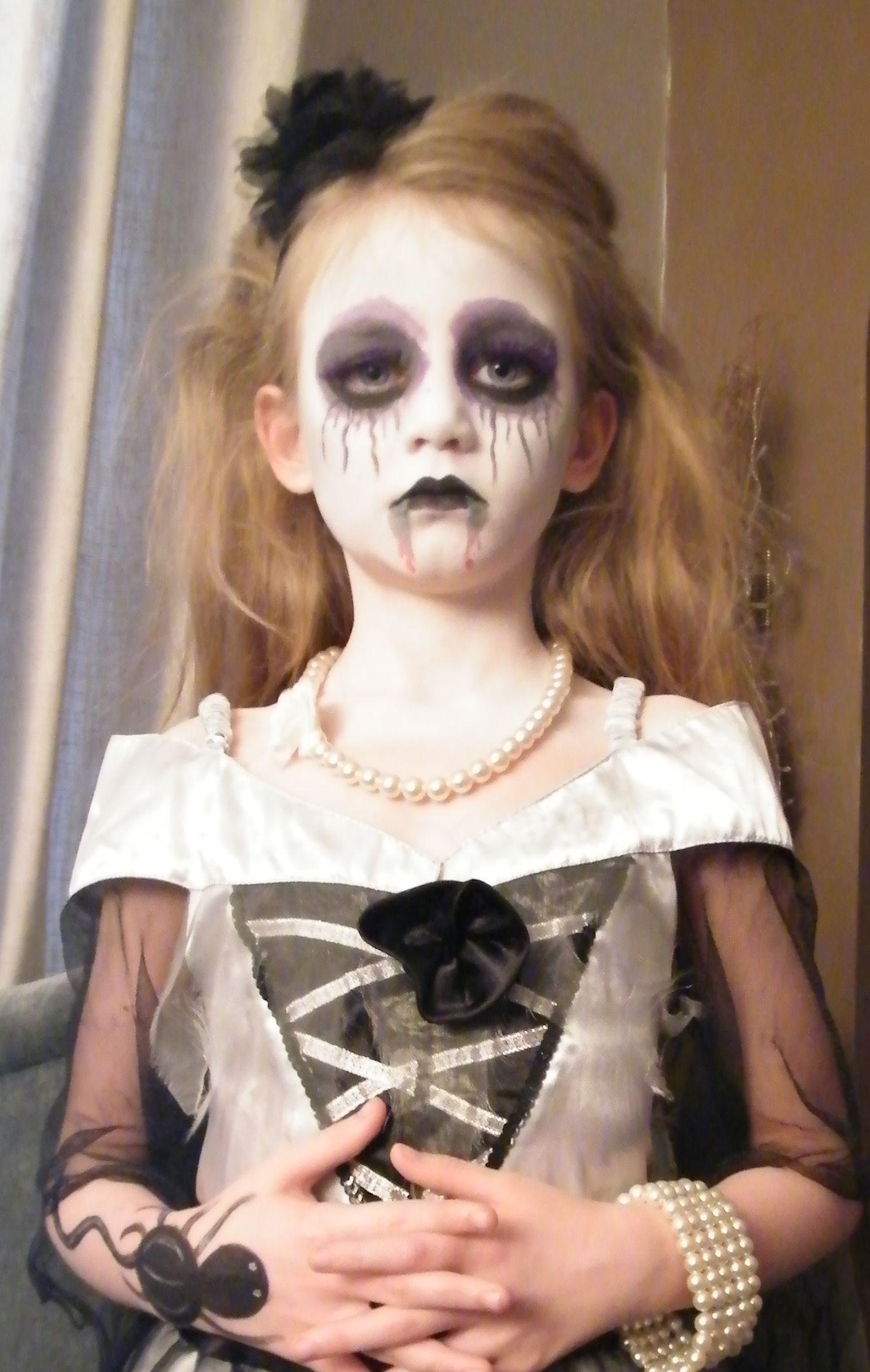 Ghost Bride Face Paint