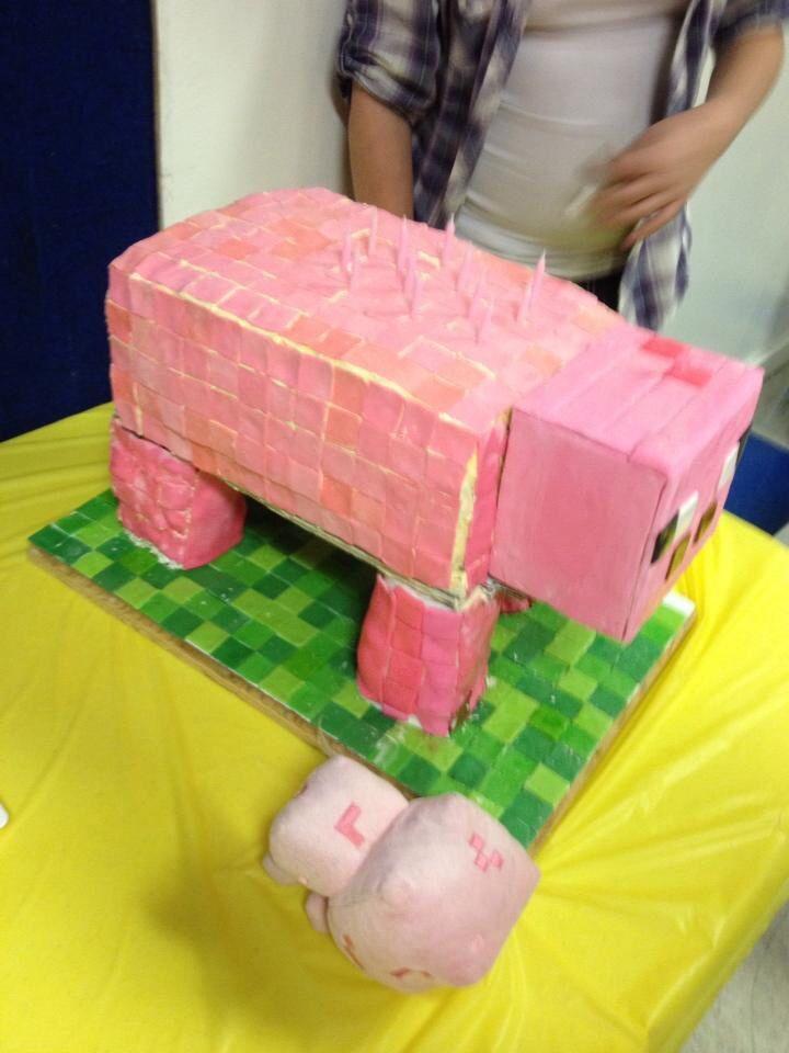 Minecraft Pig Cake Images : Minecraft Pig Cake Joy Studio Design Gallery - Best Design
